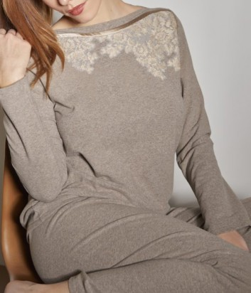 Женская пижама Verdiani 4856 карамельный