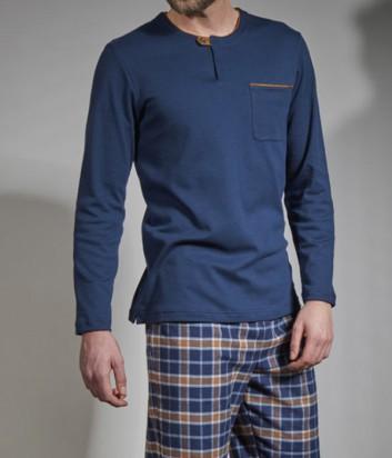 Мужская пижама Verdiani 5821 в клетку
