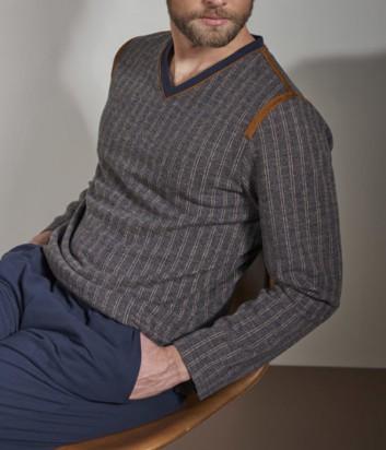 Мужская пижама Verdiani 5827 в полоску