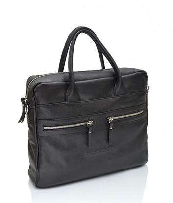 Мужская сумка-портфель Di Gregorio 2315 черная