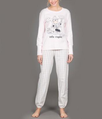 Женская пижама Happy People 3930 розовая