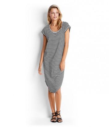 Платье Seafolly 53143-DR в черно-белую полоску