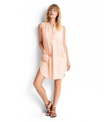 Хлопковая туника-платье Seafolly 53127-CU персиковая