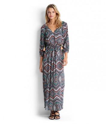 Длинное платье Seafolly 53133-КА принт