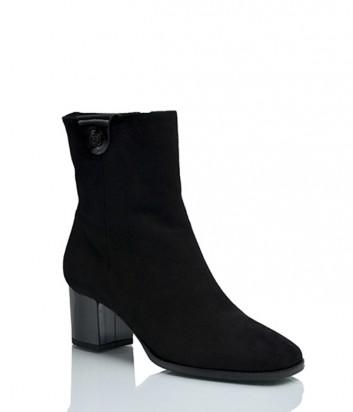 Замшевые ботинки Griff Italia 321 на меху черные