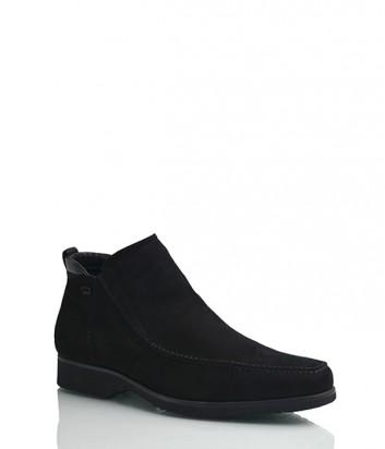 Замшевые ботинки Gianfranco Butteri 34903 черные