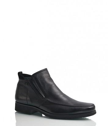 Кожаные ботинки Gianfranco Butteri 34903 черные
