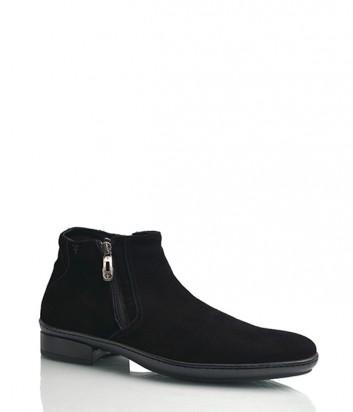 Замшевые ботинки Florian 538 черные