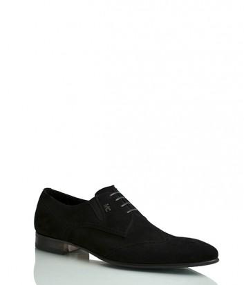 Замшевые туфли Mirko Ciccioli 4499 черные