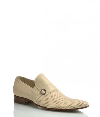 Кожаные туфли Mirko Ciccioli 2630 бежевые