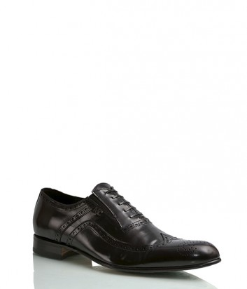Туфли Mirko Ciccioli 4195 из полированной кожи черные