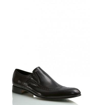 Туфли Mirko Ciccioli 4197 из полированной кожи черные