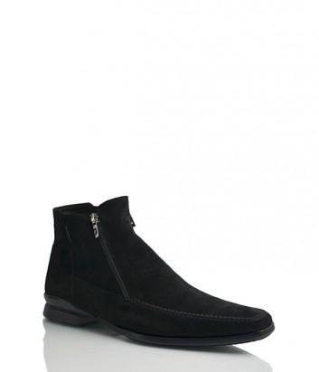 Замшевые ботинки Pakerson 14214 черные