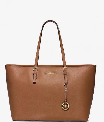 Большая сумка-шоппер Michael Kors Jet Set Travel рыжая