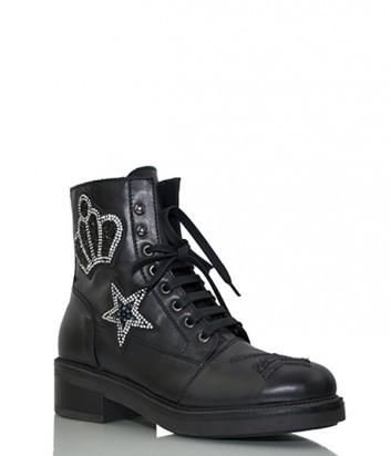 Зимние ботинки Jeannot 70233 черные