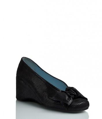 Замшевые туфли Thierry Rabotin 9184 с лазерным узором