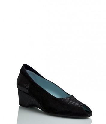 Замшевые туфли Thierry Rabotin 9249 с лазерной обработкой
