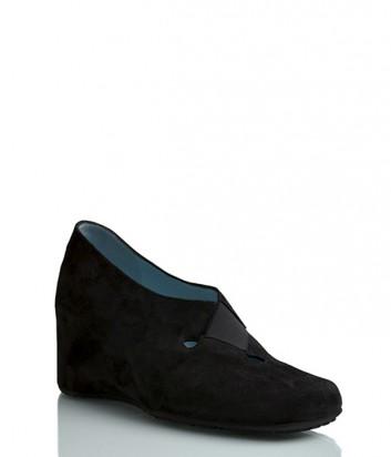 Замшевые туфли Thierry Rabotin 9137 черные