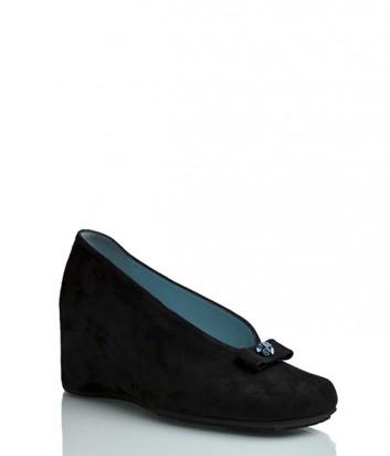 Замшевые туфли Thierry Rabotin 1987 черные