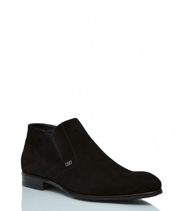 Замшевые ботинки Mario Bruni 847 черные