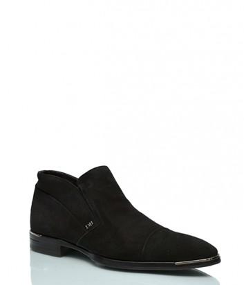 Замшевые ботинки Dino Bigioni 177 черные