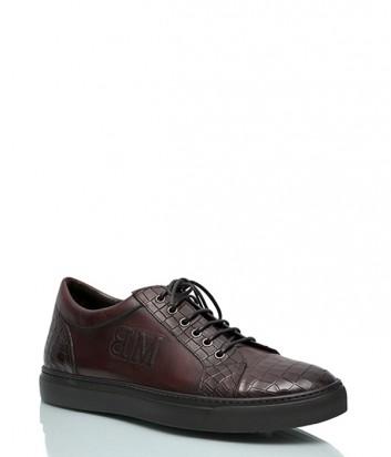 Кожаные ботинки Mario Bruni 611 коньячного цвета