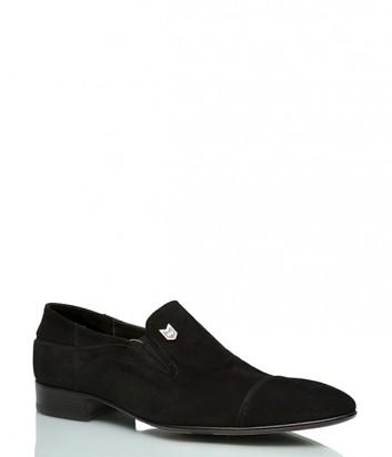 Замшевые туфли Mario Bruni 568 черные