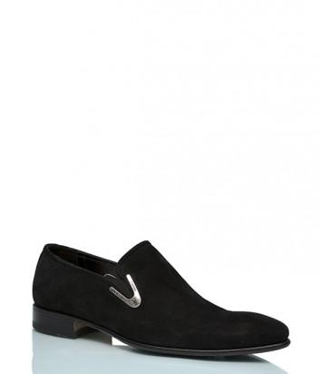 Замшевые туфли Mirko Ciccioli 3866 черные