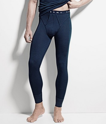 Термо-кальсоны ISA bodywear 1365 синие