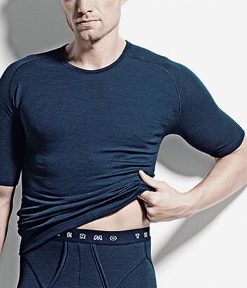 Термо-футболка ISA bodywear 1755 синяя