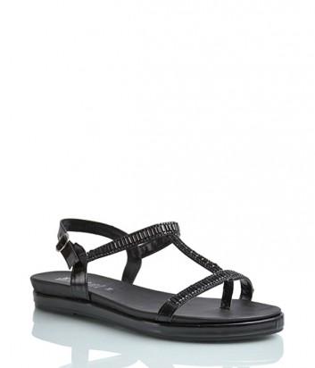 Лаковые сандалии Repo 40511 черные