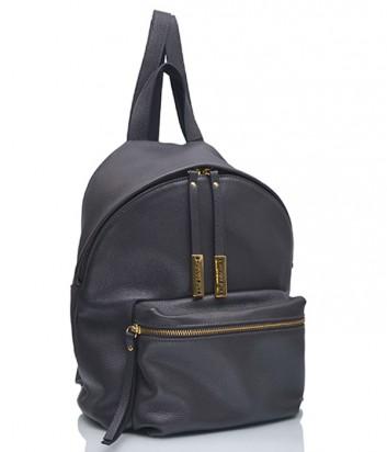 Кожаный рюкзак Di Gregorio 2673 графитовый