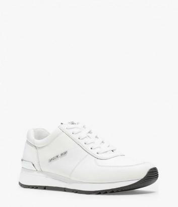 Кожаные кроссовки Michael Kors Allie белые