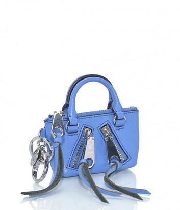 Брелок для ключей-монетница Rebecca Minkoff в виде сумочки MOTO бирюзовый