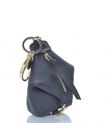 Брелок для ключей-монетница Rebecca Minkoff в виде рюкзака JULIA черный