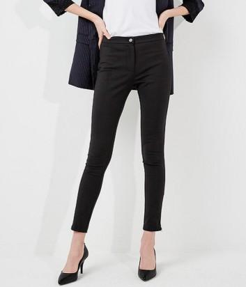 Классические укороченные брюки PINKO черные