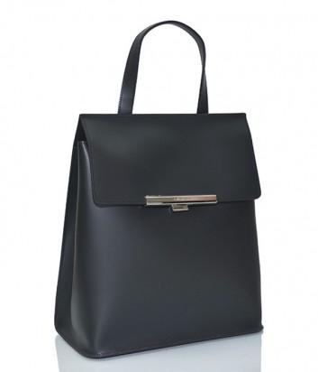 Сумка-рюкзак Lancaster Lily в гладкой коже черная