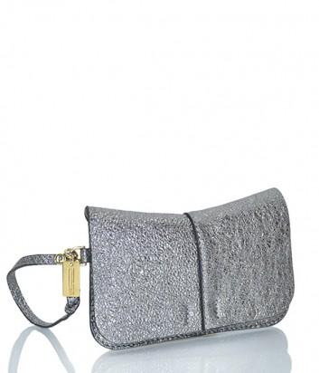Маленькая сумочка-конверт Gianni Chiarini 6030 серебристая