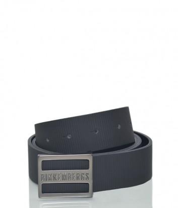 Мужской кожаный ремень Dirk Bikkembergs BD1861 черный