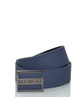Мужской кожаный ремень Dirk Bikkembergs BD1861 синий