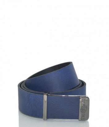 Мужской кожаный ремень Dirk Bikkembergs BD1852 синий
