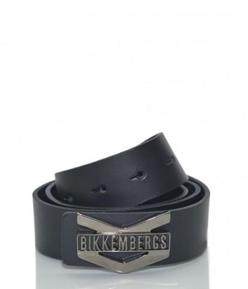 Мужской кожаный ремень Dirk Bikkembergs BD1862 черный