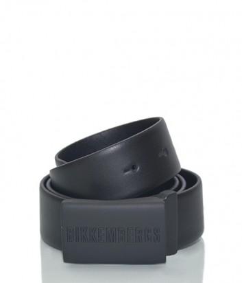 Мужской кожаный ремень Dirk Bikkembergs BD1845 черный