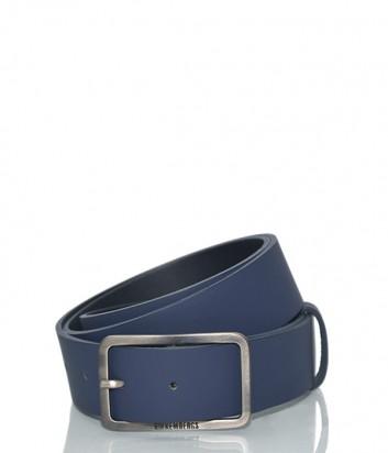 Мужской кожаный ремень Dirk Bikkembergs BD1840 синий