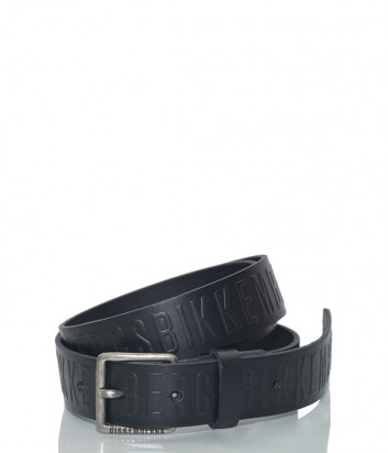 Мужской кожаный ремень Dirk Bikkembergs BD1855 черный