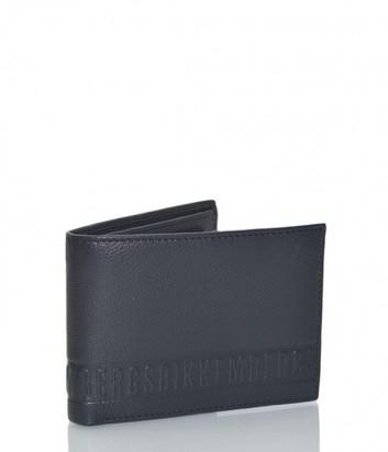 Мужской кожаный кошелек Dirk Bikkembergs 6AD3701 черный