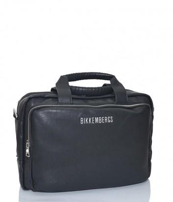 Мужская сумка-портфель Dirk Bikkembergs 7BD6608 черная