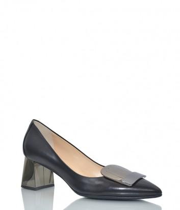 Кожаные туфли Fabio Di Luna 6903 черные