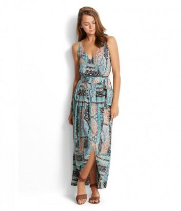 Легкое длинное платье Seafolly 53208-DR с цветным принтом