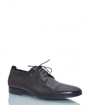 Кожаные туфли Mario Bruni 60808 коричневые